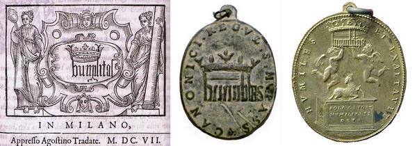 Las  MEDALLAS de San CARLOS BORROMEO. SIGLOS XVI- XVII- XVIII. Apuntes iconográficos. Humili12