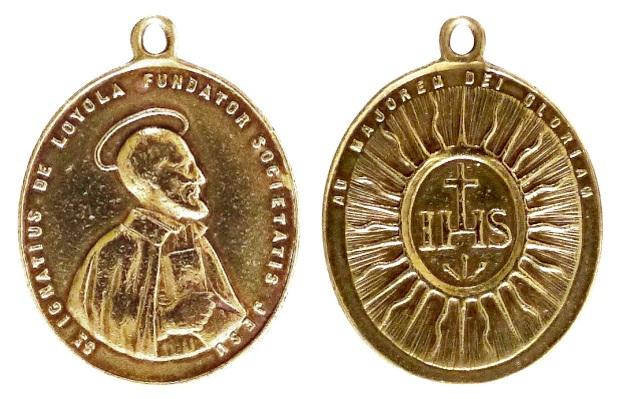 Recopilacion 180 medallas de San Ignacio de Loyola Ignaci45