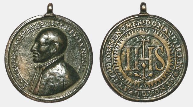 Recopilacion 180 medallas de San Ignacio de Loyola Ignaci50