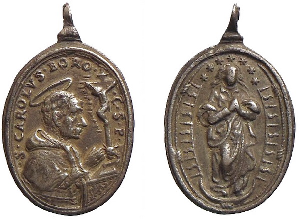 borromeo - Las  MEDALLAS de San CARLOS BORROMEO. SIGLOS XVI- XVII- XVIII. Apuntes iconográficos. Inmacu10