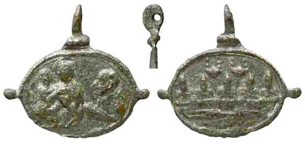 Las  MEDALLAS de San CARLOS BORROMEO. SIGLOS XVI- XVII- XVIII. Apuntes iconográficos. Insvla10