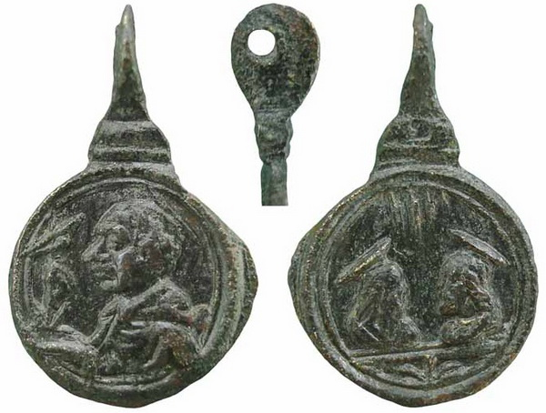 Las  MEDALLAS de San CARLOS BORROMEO. SIGLOS XVI- XVII- XVIII. Apuntes iconográficos. Insvla14