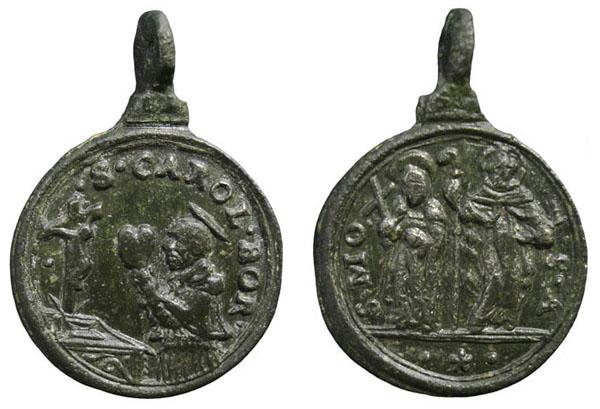 Las  MEDALLAS de San CARLOS BORROMEO. SIGLOS XVI- XVII- XVIII. Apuntes iconográficos. Insvla15