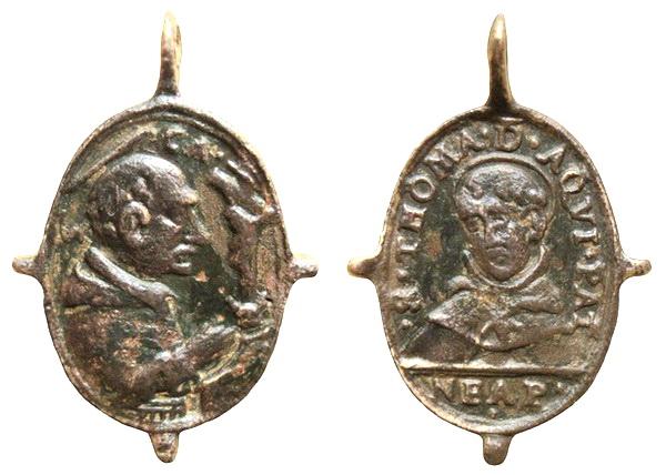 Las  MEDALLAS de San CARLOS BORROMEO. SIGLOS XVI- XVII- XVIII. Apuntes iconográficos. Insvla16
