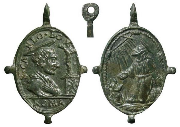 borromeo - Las  MEDALLAS de San CARLOS BORROMEO. SIGLOS XVI- XVII- XVIII. Apuntes iconográficos. Insvla17