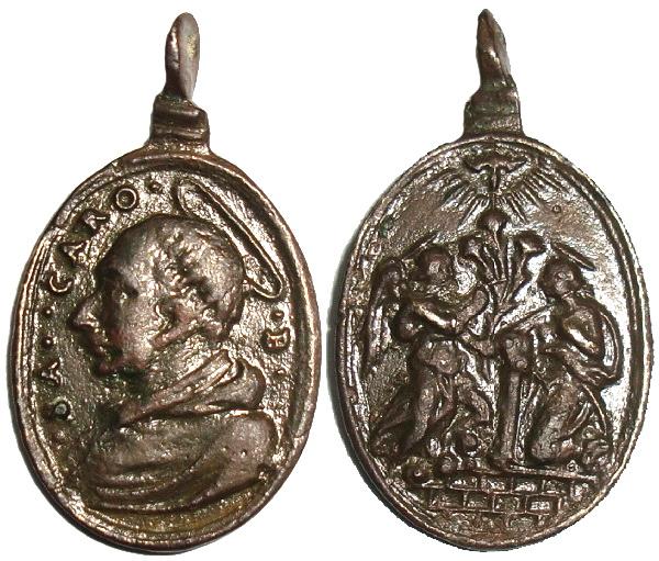 Las  MEDALLAS de San CARLOS BORROMEO. SIGLOS XVI- XVII- XVIII. Apuntes iconográficos. Italic10