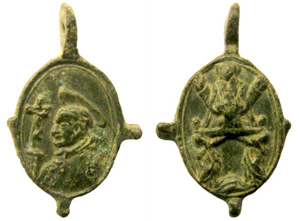 borromeo - Las  MEDALLAS de San CARLOS BORROMEO. SIGLOS XVI- XVII- XVIII. Apuntes iconográficos. Itria_11
