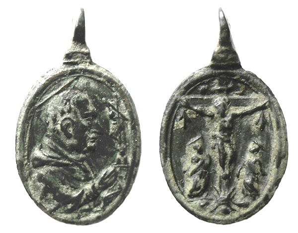 borromeo - Las  MEDALLAS de San CARLOS BORROMEO. SIGLOS XVI- XVII- XVIII. Apuntes iconográficos. Jacobo10