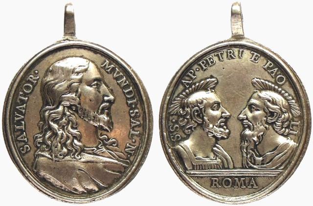 Salvator Mundi / San Pedro y San Pablo  (R.M. SXVIII-O188) Jesucr10