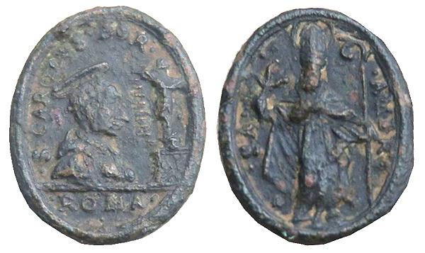 borromeo - Las  MEDALLAS de San CARLOS BORROMEO. SIGLOS XVI- XVII- XVIII. Apuntes iconográficos. Jpmato10