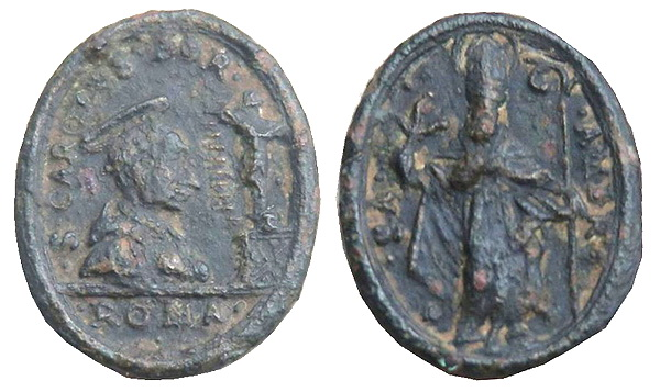 Las  MEDALLAS de San CARLOS BORROMEO. SIGLOS XVI- XVII- XVIII. Apuntes iconográficos. Jpmato10