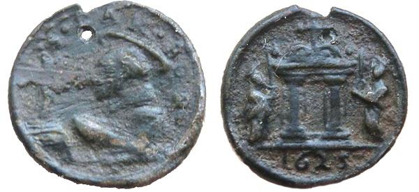 Las  MEDALLAS de San CARLOS BORROMEO. SIGLOS XVI- XVII- XVIII. Apuntes iconográficos. Jpmato11