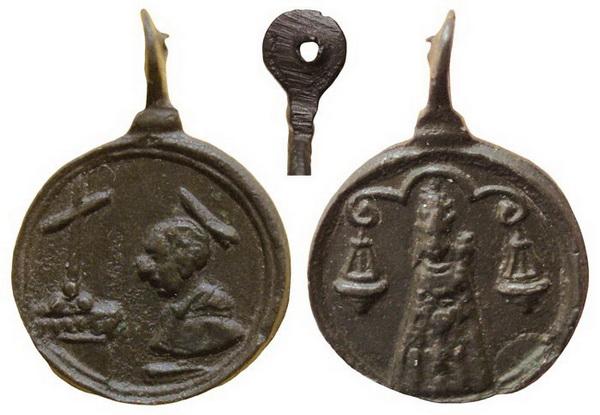 borromeo - Las  MEDALLAS de San CARLOS BORROMEO. SIGLOS XVI- XVII- XVIII. Apuntes iconográficos. Loreto12