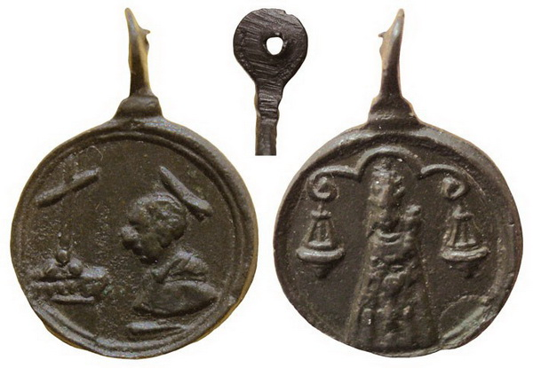 Las  MEDALLAS de San CARLOS BORROMEO. SIGLOS XVI- XVII- XVIII. Apuntes iconográficos. Loreto12