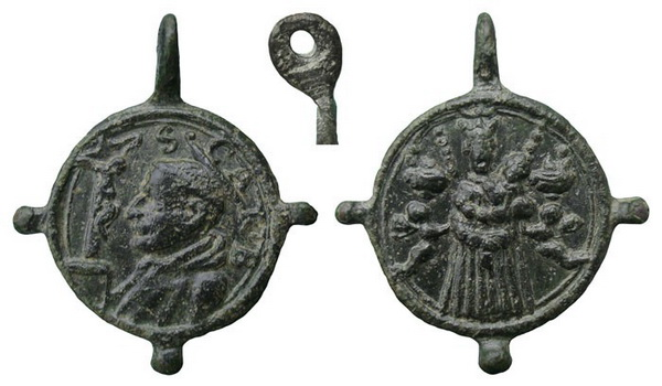 borromeo - Las  MEDALLAS de San CARLOS BORROMEO. SIGLOS XVI- XVII- XVIII. Apuntes iconográficos. Loreto13