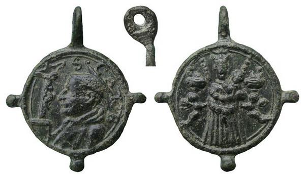 Las  MEDALLAS de San CARLOS BORROMEO. SIGLOS XVI- XVII- XVIII. Apuntes iconográficos. Loreto13