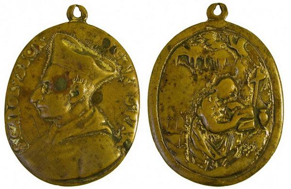 Las  MEDALLAS de San CARLOS BORROMEO. SIGLOS XVI- XVII- XVIII. Apuntes iconográficos. Magdal10