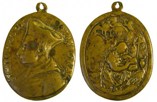 borromeo - Las  MEDALLAS de San CARLOS BORROMEO. SIGLOS XVI- XVII- XVIII. Apuntes iconográficos. Magdal10