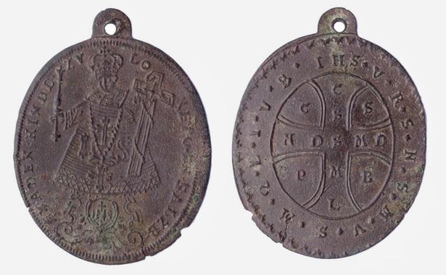Niño Jesús de Loreto en Salzburgo - Cruz de San Benito, (R.M. SXVIII-O187) Niao_j10