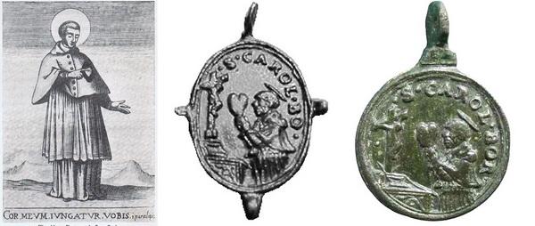 Las  MEDALLAS de San CARLOS BORROMEO. SIGLOS XVI- XVII- XVIII. Apuntes iconográficos. Ofreci10