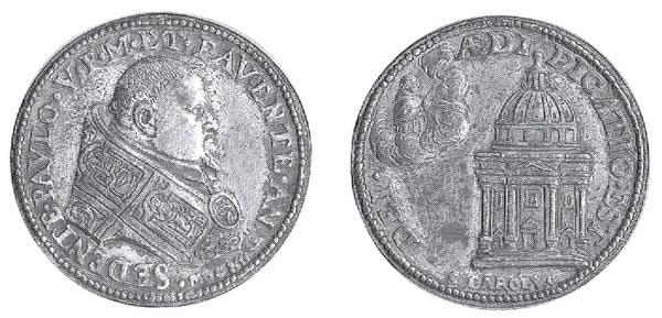 Las  MEDALLAS de San CARLOS BORROMEO. SIGLOS XVI- XVII- XVIII. Apuntes iconográficos. Paolo_10