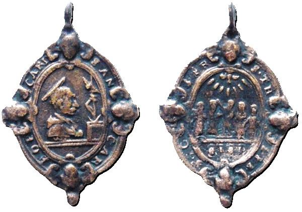 Las  MEDALLAS de San CARLOS BORROMEO. SIGLOS XVI- XVII- XVIII. Apuntes iconográficos. Patric10