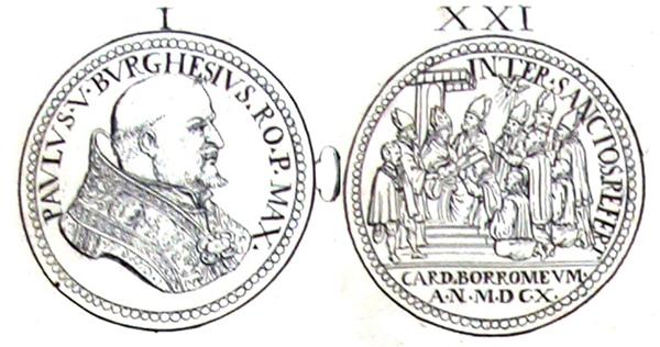 Las  MEDALLAS de San CARLOS BORROMEO. SIGLOS XVI- XVII- XVIII. Apuntes iconográficos. Paulus10