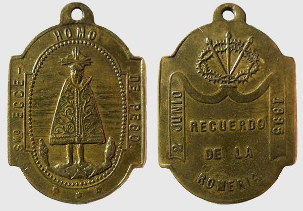 Smo. Ecce - Homo de Pego /Recuerdo romeria 2 Junio 1895 (R.M. SXIX-Ot11) Pego_v10