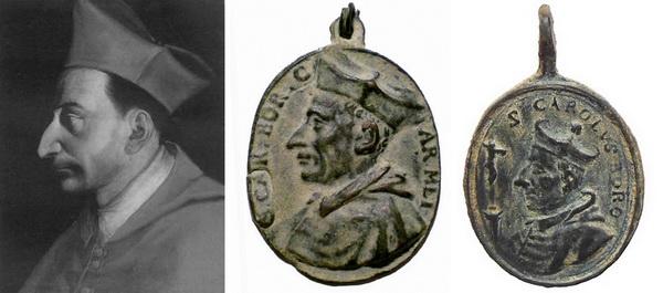 borromeo - Las  MEDALLAS de San CARLOS BORROMEO. SIGLOS XVI- XVII- XVIII. Apuntes iconográficos. Retrat10