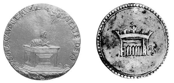 Las  MEDALLAS de San CARLOS BORROMEO. SIGLOS XVI- XVII- XVIII. Apuntes iconográficos. Siglo_10