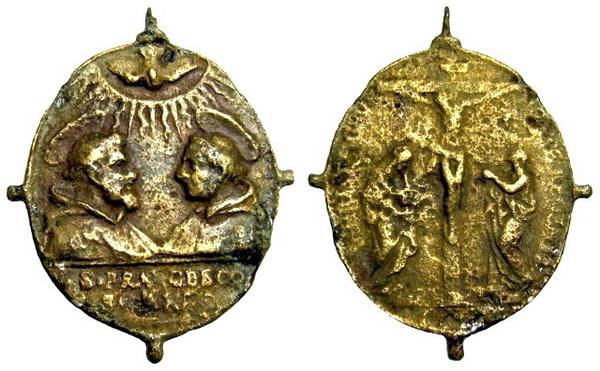 Las  MEDALLAS de San CARLOS BORROMEO. SIGLOS XVI- XVII- XVIII. Apuntes iconográficos. Staric12