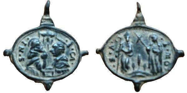borromeo - Las  MEDALLAS de San CARLOS BORROMEO. SIGLOS XVI- XVII- XVIII. Apuntes iconográficos. Tate_10