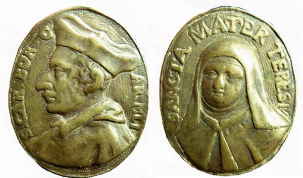 borromeo - Las  MEDALLAS de San CARLOS BORROMEO. SIGLOS XVI- XVII- XVIII. Apuntes iconográficos. Teresa10