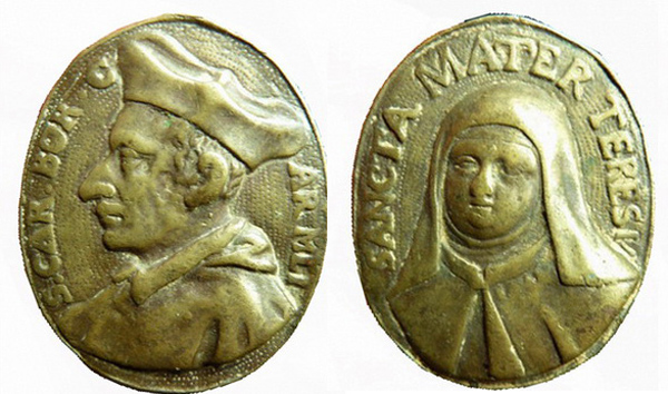 Las  MEDALLAS de San CARLOS BORROMEO. SIGLOS XVI- XVII- XVIII. Apuntes iconográficos. Teresa10