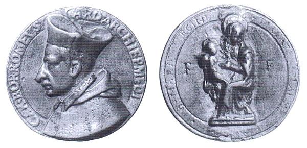 Las  MEDALLAS de San CARLOS BORROMEO. SIGLOS XVI- XVII- XVIII. Apuntes iconográficos. Toderi10