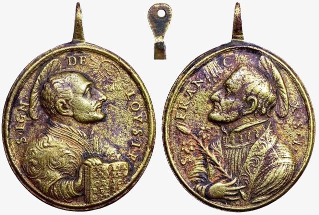 Recopilacion 180 medallas de San Ignacio de Loyola Z11_e011