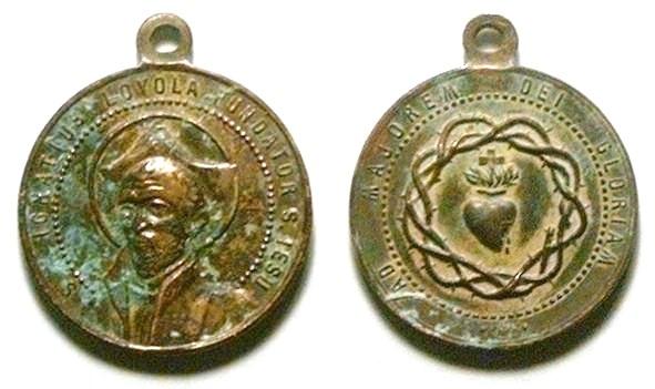 Recopilacion 180 medallas de San Ignacio de Loyola Z13_ig10