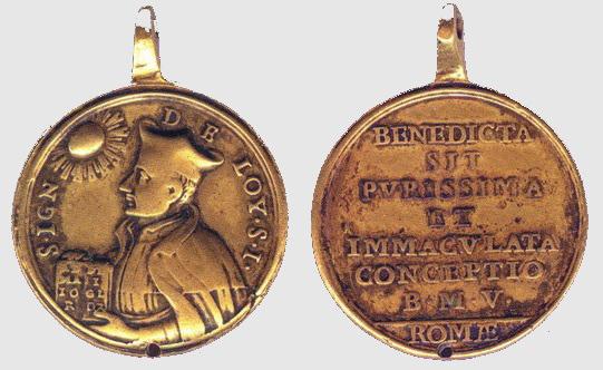 Recopilacion 180 medallas de San Ignacio de Loyola Z15_ig10