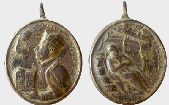 Recopilacion 180 medallas de San Ignacio de Loyola Z18_ig10