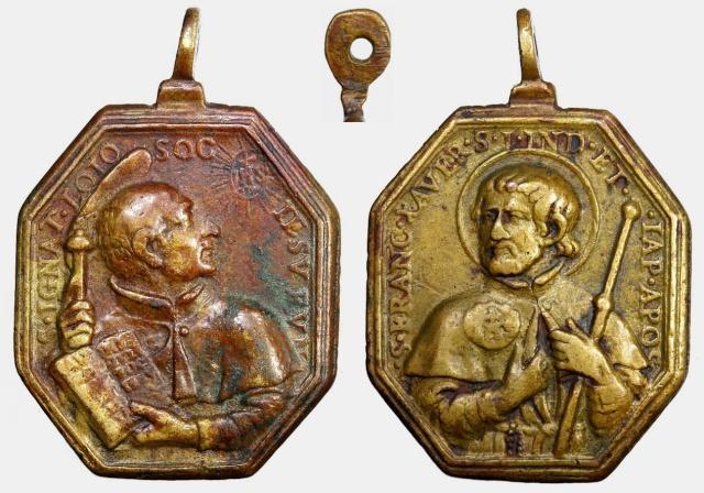 Recopilacion 180 medallas de San Ignacio de Loyola Z27_ig10