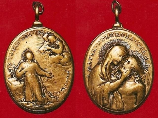 Recopilacion 180 medallas de San Ignacio de Loyola Z31_do10
