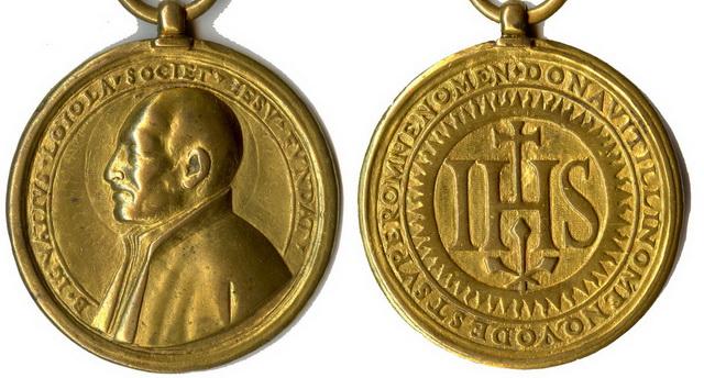 Recopilacion 180 medallas de San Ignacio de Loyola Z32_ig10