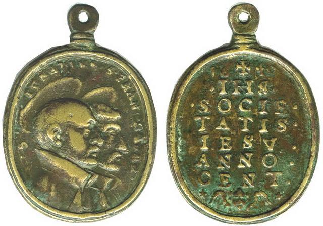 Recopilacion 180 medallas de San Ignacio de Loyola Z39_1610