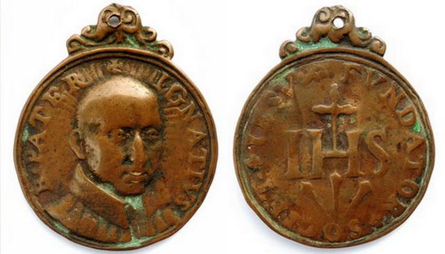 Recopilacion 180 medallas de San Ignacio de Loyola Z40_1610