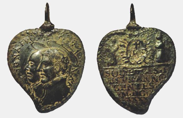 Recopilacion 180 medallas de San Ignacio de Loyola Z42-1610
