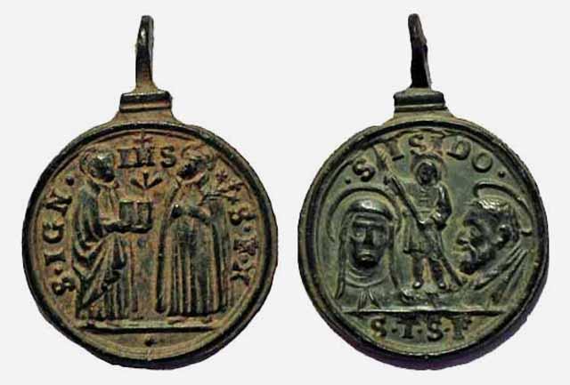 Recopilacion 180 medallas de San Ignacio de Loyola Z43_ig10