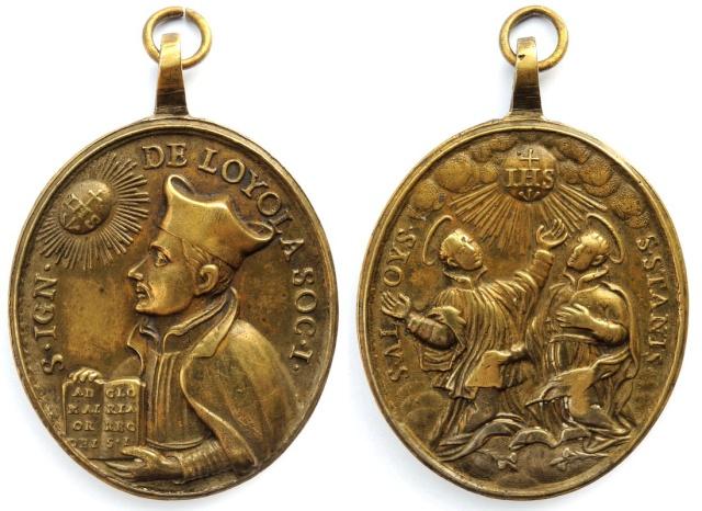 Recopilacion 180 medallas de San Ignacio de Loyola Z44_ig10