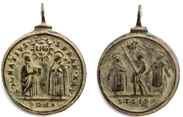Recopilacion 180 medallas de San Ignacio de Loyola Z46_ig10