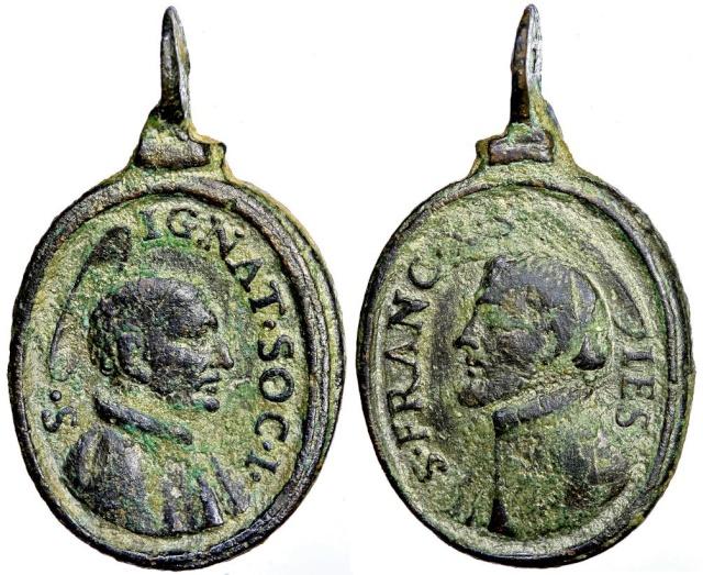 Recopilacion 180 medallas de San Ignacio de Loyola Z9_ign10