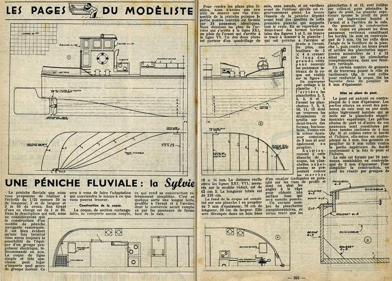 peniche sylvie plan systeme D des années 50 (origine. stab) Penich10